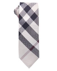 Burberry | Multicolor Honey Nova Check Silk 'manston' Tie for Men | Lyst