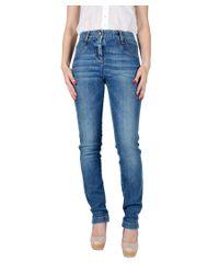 Dolce & Gabbana | Blue Skinny Denim Jeans | Lyst