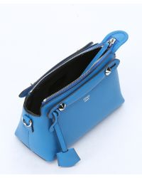 Fendi | Royal Blue Leather Mini 'by The Way' Convertible Shoulder Bag | Lyst
