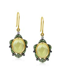 Amrapali - Green Turtle Earrings - Lyst