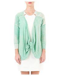 Quinn - Green Sonya Twist Pullover - Lyst