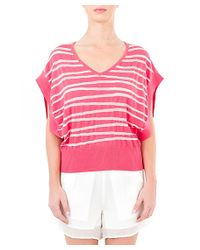 Quinn - Pink Imagine Square Tank - Lyst