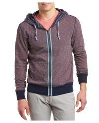 Faherty Brand - Blue Reversible Hoodie for Men - Lyst