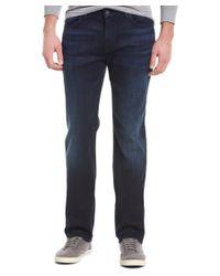 7 For All Mankind - Blue Standard Delancey Straight Leg for Men - Lyst