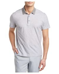 Canali | Gray Polo Shirt for Men | Lyst