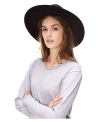 Liebeskind Berlin - Multicolor Floppy Wide Brim Wool Hat - Lyst