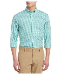 Brooks Brothers - Green Regent Slim Fit Woven Shirt for Men - Lyst