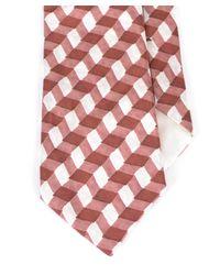 Bottega Veneta - Men's Amethyst Light Brown Silk Tie for Men - Lyst