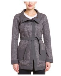 Merrell - Gray Talley Swacket Shadow Belted Sweater Coat - Lyst
