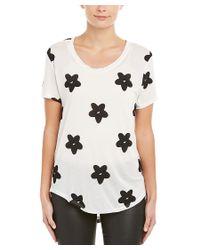Townsen - White Daisy T-shirt - Lyst