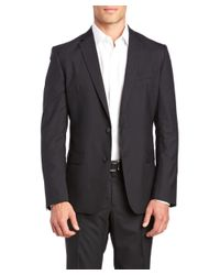 Versace - Black Versace Collection Suit With Flat Front Pant for Men - Lyst