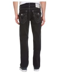 True Religion - Black Redfield Park Straight Leg for Men - Lyst