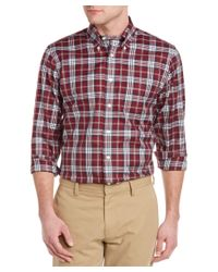 Brooks Brothers - Red Blanket Plaid Button Down Shirt for Men - Lyst