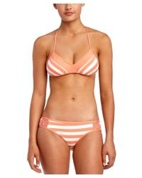 Ella Moss - Pink Cabana Retro Bottom - Lyst