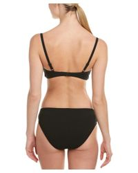 Gottex - Black High-waist Bikini Bottom - Lyst