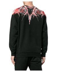 Marcelo Burlon - Men's Black Cotton Sweatshirt for Men - Lyst
