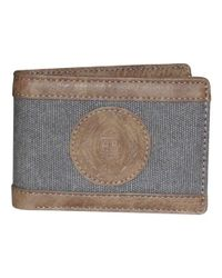 Buxton - Gray Men's Budweiser Eagle Wings Front Pocket Slimfold Wallet for Men - Lyst