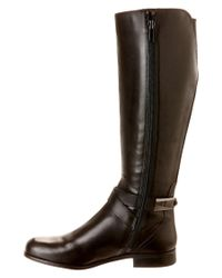 Franco Sarto | Black Majesta Leather Knee-High Boots | Lyst