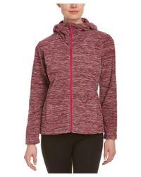 Mountain Hardwear | Pink Snowpass Fleece Full Zip Hoodie | Lyst