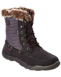 Sperry Top-Sider   Black Winter Harbor Rain Boots   Lyst