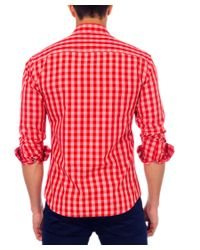 Unsimply Stitched - Red Woven Shirt for Men - Lyst