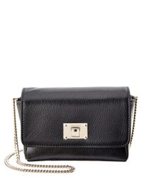 Jimmy Choo | Black Ruby L Soft Grained Leather Mini Bag | Lyst