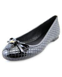 MICHAEL Michael Kors | Melody Ballet Women Patent Leather Black Ballet Flats | Lyst