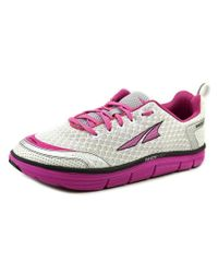 Altra | Purple Intuition 3 Round Toe Synthetic Running Shoe | Lyst