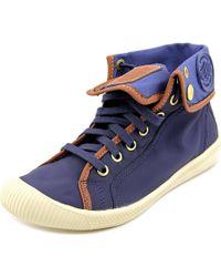 Palladium   Blue Flex Baggy Tx Women Round Toe Synthetic Sneakers   Lyst