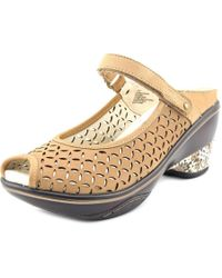 Jambu | Multicolor Journey Encore Women Peep-toe Leather Mules | Lyst