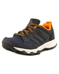 Adidas Originals | Blue Kanadia 7 Tr K Women Round Toe Leather Running Shoe for Men | Lyst