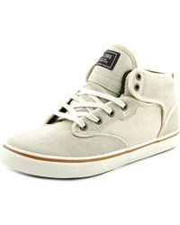 Globe | White Motley Mid Round Toe Canvas Skate Shoe for Men | Lyst