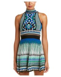 Torn By Ronny Kobo | Blue Mosaic Crop Top | Lyst