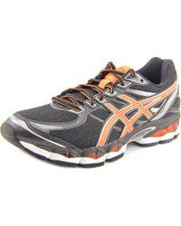 Asics | Black Gel-evate 3 Round Toe Synthetic Running Shoe for Men | Lyst