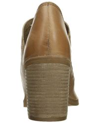 Naughty Monkey - Brown Women's Blind Date Ankle Bootie - Lyst