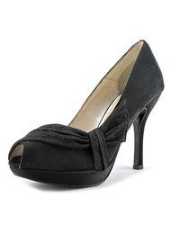 Caparros | Odessa Women Peep-toe Synthetic Black Heels | Lyst