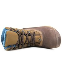 The North Face - Chilkat Iii Women Round Toe Suede Brown Snow Boot - Lyst