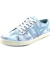 Gola | Blue Jasmine Aloha Women Round Toe Canvas Sneakers | Lyst