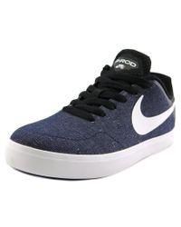 Nike | Blue Paul Rodriguez Ctd Lr Cvs Round Toe Canvas Sneakers for Men | Lyst
