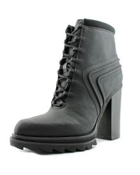 Gx By Gwen Stefani - Cope Women Round Toe Synthetic Black Bootie - Lyst