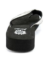 Yellow Box - Metallic Antheia Women Open Toe Synthetic Flip Flop Sandal - Lyst