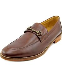 Cole Haan - Cambridge Bit Men Moc Toe Leather Brown Loafer for Men - Lyst