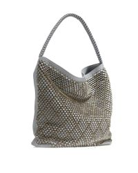 Nada Sawaya | Gray Md6 Hobo Laser Cut Leather Dust | Lyst