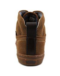 Vans - Brown Alomar Round Toe Canvas Sneakers for Men - Lyst