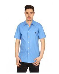 Marc Jacobs | Blue Mens Shirt Short Sleeve for Men | Lyst