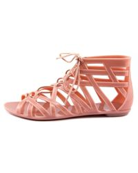 Dirty Laundry - Pink Lost Angel Women Open Toe Synthetic Gladiator Sandal - Lyst