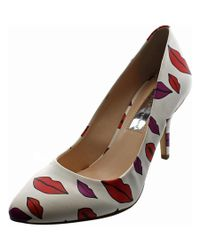 INC International Concepts | White Zitah Pointed Toe Synthetic Heels | Lyst