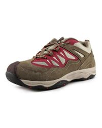 Easy Spirit | Peregrine Women Round Toe Suede Gray Sneakers | Lyst