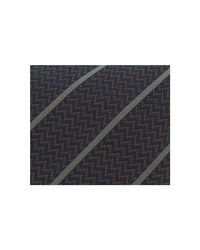 Missoni - Blue U4545 Navy/gray Repp 100% Silk Tie for Men - Lyst