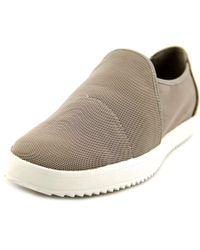 Eileen Fisher - Gray Mime Women Round Toe Synthetic Loafer - Lyst